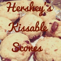 Hershey's Kissable Scones...